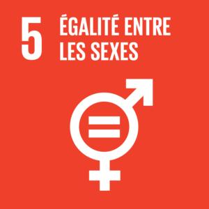 Objectif 5: Égalité entre les sexes