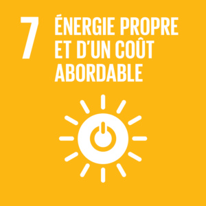Objectif 7: Énergie propre et d'un coût affordable