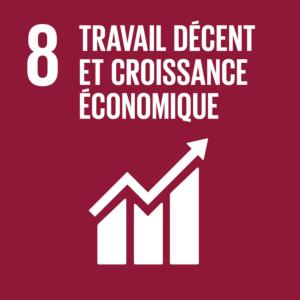 Objectif 8: Travail décent et croissance économique