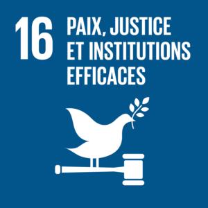 Objectif 16: Paix, justice et institutions efficaces